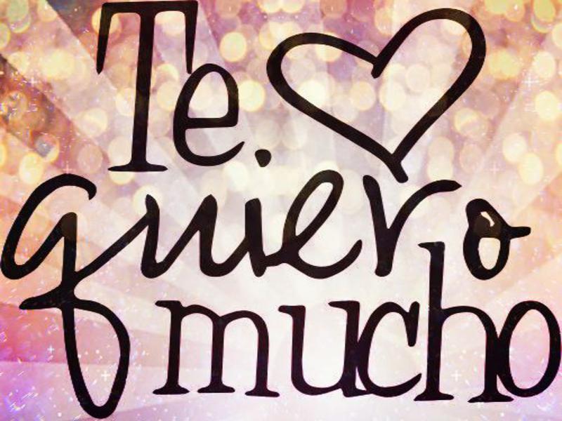 Frases Y Mensajes De Te Quiero Mucho
